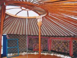 konstrukce jurty