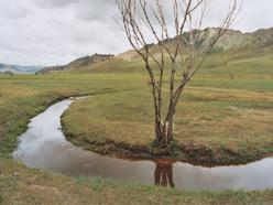 potok zátočina