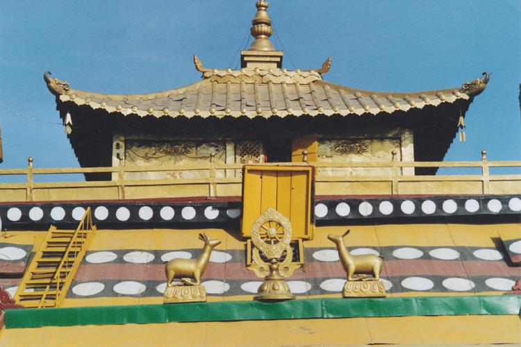 zlatá střecha