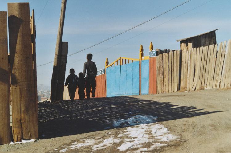 děti v ulici
