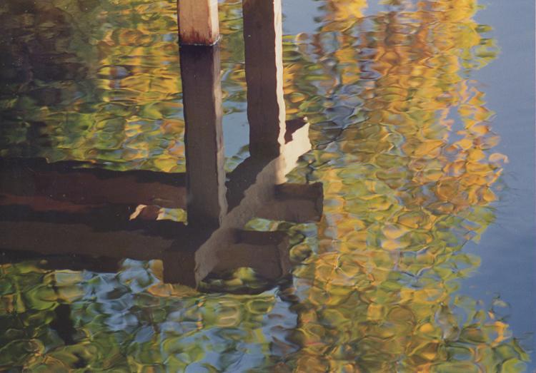 zrcadlení podzimu