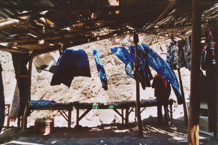 prádlo ve větru