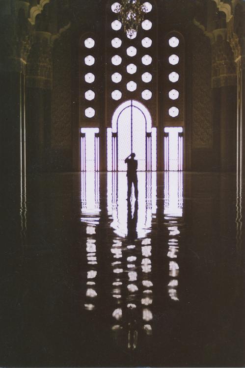 mešita interiér