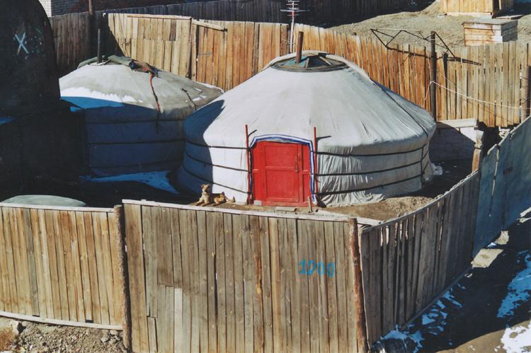 jurta Mongolsko